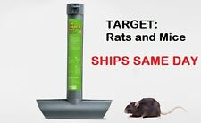 1 x RAT MOUSE MICE RODENTS TOP LOAD TUBE BAIT STATION Lockable Tamper Proof Trap