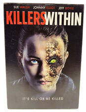 Killers Within DVD New Sealed with Slipcover  Sue Walsh Jeff Doyle Johnny Elliot