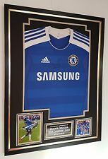 *** Rare Didier Drogba of Chelsea Signed SHIRT ***