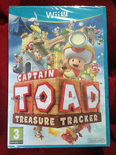 CAPTAIN TOAD TREASURE TRACKER Nintendo Wii U WIIU  PAL VF ++ 100% NEUF ++ Jeu
