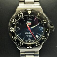 Tag Heuer Formula 1 Wristwatch WAC1210 Water Resistant Stainless Steel 308010