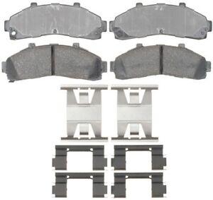 Disc Brake Pad Set-Ceramic Disc Brake Pad Front ACDelco Advantage 14D652CH