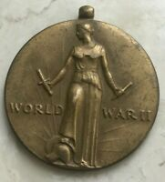 World War II Bronze Medal - Freedom From Fear Want Speech Religion