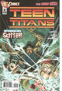 °TEEN TITANS #2 THE NEW 52 INTRODUCING SKITTER°Eng DC 2011