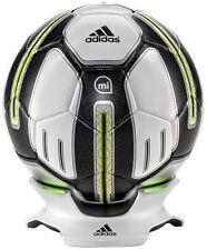 ADIDAS miCoach Smart Ball (calcio con sensori, app connettività) BIANCO/NERO