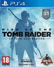 Rise of the Tomb Raider 20 Year Celebration PS4 MINT - Same Day Dispatch - FAST