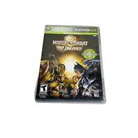 Mortal Kombat vs. DC Universe (Microsoft Xbox 360, 2008) Complete TESTED WORKS
