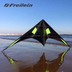 Blackjazz Ⅲ 2.3m Professional Stunt Kite for Outdoor Dual Line Kite Flying Toys