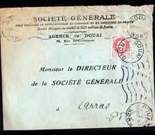 """DOUAI (59) BANQUE """"SOCIETE GENERALE"""" Voyagée en 1942"""