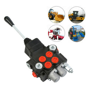 11GPM 1Spool Hydraulic Directional Control Valve Tractor Loader w/ Joystick