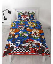 Nintendo Mario Racer SINGLE Quilt Doona Cover Set Mario Luigi Nintendo Character