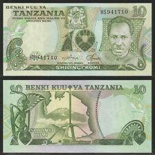 TANZANIA - 10 Shillings 1978 UNC Pick 6c