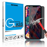 For iPhone 11 Pro Max Privacy Anti-Spy Tempered Glass Screen Film Protector US