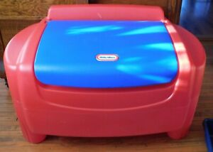 Little Tikes Sort 'n Store Toy Box Storage Chest with 2 Blue Bins