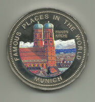 Uganda 1000 Shillings 1994 - Famous Places - Munich