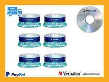 ($0 P&H) Carton Lots Verbatim DVD-RW 6 x 30 Pk Disc Spindle 2x speed  Pn: 95179