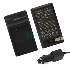 Battery Charger for Pentax D-LI78 Optio M50 M60 V20 W60 W80
