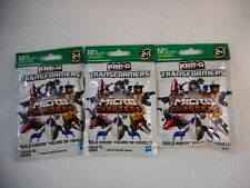 KRE-O Transformers  unopened 3 figures  collection 3