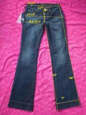 NWT!! 149$ MISS SIXTY CONNY sz W23 L34 jeans Bootcut Denimstretch cotton women