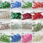"""3/8"""" 5/8"""" 7/8"""" 1"""" 1.5"""" mixed sizes cartoon grosgrain ribbon 1Y/2Y/10 Yards"""