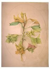 BRUNO BRUNI, A Floral Fantasy, signed and numbered.Originallithographie.