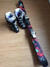 Skischuhe HEAD Edge HF Gr. 39, 5 250/255 und Ski K2 Juvy 139 mit Marker Bindung