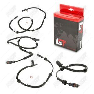 4x ABS Sensor Drehzahlfühler vorne hinten für OPEL MOVANO A F9 H9 J9 U9 E9 98-10