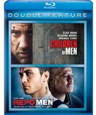 Children of Men / Repo Men [New Blu-ray] 2 Pack, Snap Case