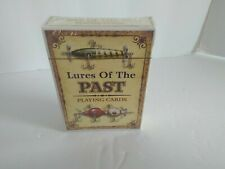 Lures Of The Past Playing Cards NEW