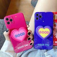 Bowknot Bracket Soft TPU Phone Case For iPhone 12 12mini 11 Pro Max X XR Xs 7 8