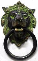 Lion Design Antique Vintage Style Handmade BrassDoor Knocker,Door Pull,Home DEco