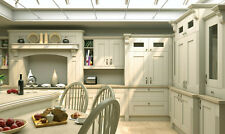 Cream Shaker Wilton Oak grain, Rigid Built Kitchens, Traditional Modern Kitchen