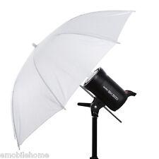 """Nouveau Studio Photo Photographie Vidéo Parapluie Mous 33"""" Translucide BLANC"""