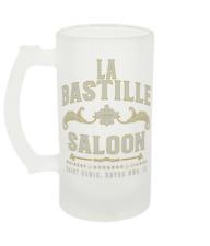 Frosted Glass Beer Mug 16oz Based on La Bastille Saloon Red Dead Redemption 2
