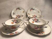Vintage Antique Rosenthal Aida Selb Bavaria Tea Cup And Saucer Set