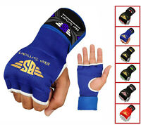 BS Boxing Gel Gloves Hand wraps Punch Bag Inner Glove MMA Martial Arts, Gear
