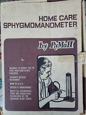 Vintage Home Care Sphygmomanometer Blood Pressure instrument by PyMaH in box