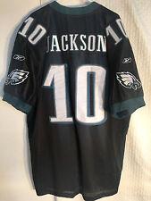 Reebok Authentic NFL Jersey Philadelphia Eagles Jackson Black Alternate sz 54