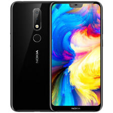 Nokia X6 Smartphone Android 8.0 Snapdragon 636 Octa Core 64GB GPS Face ID 4G LTE