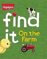 Find It! Board Bks.: On the Farm by Karen Jordan (2015, Board Book)