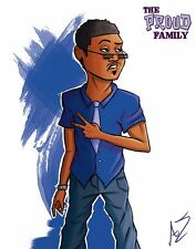 The Proud Family Drawing of Sticky Webb Grown Up