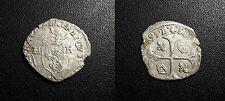 Henri IV - douzain aux deux H - 1593 N, Montpellier - Dy#1247A