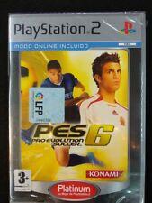Pro evolution soccer 6 videojuego para play 2 nuevo y precintado