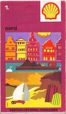 Cartolina Stradale collector - Cartoguide SHELL Francese - Nord N° 1