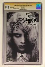 NIGHT OF THE LIVING DEAD JUST A GIRL • CGC SS 9.8 • /1000 • SIGNED GEORGE ROMERO