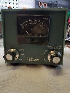 HEATHKIT HM-2102 VHF Power/ SWR Meter. WORKING