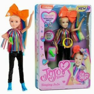 "🎀 Nickelodeon JoJo Siwa Singing Doll Worldwide Party, 10"" Doll - NEW 🌟"