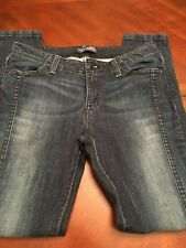 Women Levis Size 11 Skinny Denim Blue Jeans