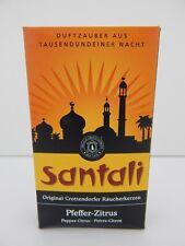 German Crottendorfer Santali Pepper Citrus Scent Incense Cones for Smokers