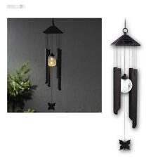 Windspiel mit LED Solar Gartenleuchte, Dekoration für Garten mit Beleuchtung